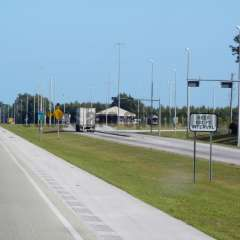 Madison (Live Oak) Florida Weigh Station Truck Scale Picture