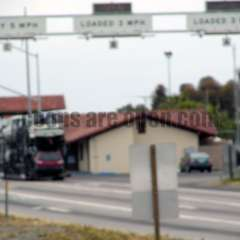 San Onofre (Oceanside) California Weigh Station Truck Scale Picture  San Onofre Weigh Station South Bound
