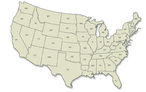 Coops Are Open - Us weigh station map