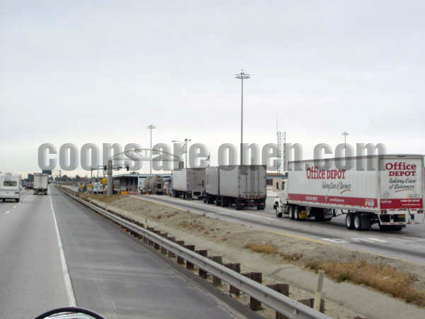 Desert Hills Banning California Weigh Station Truck Scale Picture
